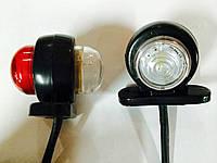 Супер маленький габаритный диодный фонарь 12-24 вольт