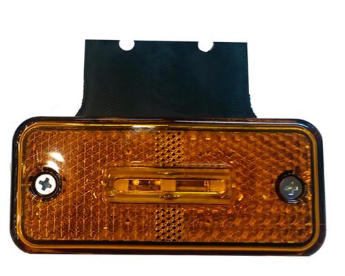 Фонарь габаритный (гирлянда) диод 12-24 вольт желтый