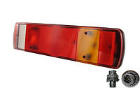 Задній ліхтар універсальний з фішкою збоку лівий 611610