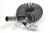 Купить електрокабель 7м N-typ разьем серый для грузовиков Рено