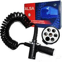 Купити електричний кабель поліуретановий 4,5 м N-typ разьем для вантажних авто