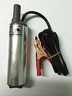 Насос перекачки топлива 24 вольт с фильтром маленький