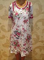 Ночная рубашка Saimeiqi с розами