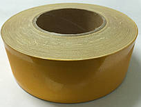 Светоотражающая лента желтая 2-й сорт