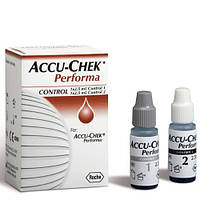 Accu-Chek® Performa Контрольный раствор 2 х 2,5 мл