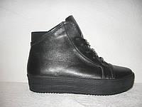 Ботиночки-криперсы стильные кожаные