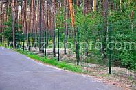 Забор для ограждения больших территорий