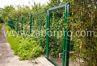 Забор из сварной сетки в полимере