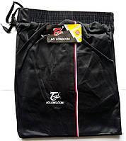 Штаны спортивные мужские AO Longcom, размеры XL-5XL, модель 0362, чёрные 001