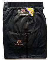Штаны спортивные мужские AO Longcom, размеры XL-5XL, модель 0361-1, чёрные 001