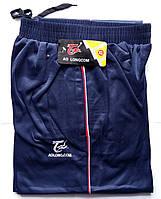 Штаны спортивные мужские AO Longcom, размеры XL-5XL, модель 0362, синие 001