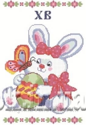 Пасхальна серветка для вишивки бісером 25х38см - СКРИНЬКА. Товари для вишивки  бісером та нитками. 73378db7be4a4