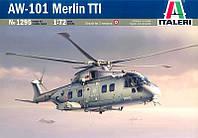 1:72 Сборная модель вертолета AW-101 Merlin TTI, Italeri 1295