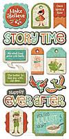Многослойные чипборды для скрапбукинга 15x35 We R Memory Keepers - Storytime - Tags 42473-4