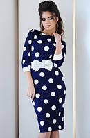 Молодежное платье  французский трикотаж раз.42,44,46