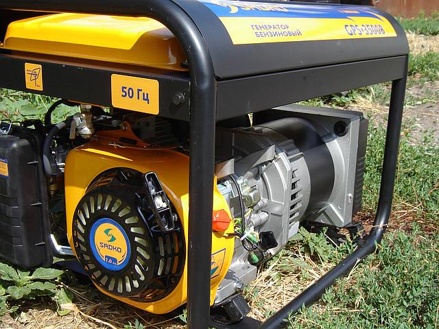 Бензиновый генератор Sadko GPS 3500B фото 3
