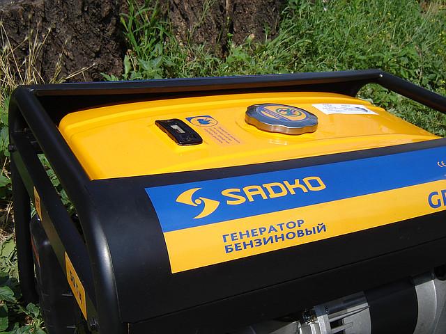 Бензиновый генератор Sadko GPS 3500B фото 9
