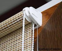 Рулонные шторы из натуральных материалов