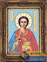 Схема иконы для вышивки бисером - Пантелеймон Целитель Св. Великомученик, Арт. ИБ4-032-1