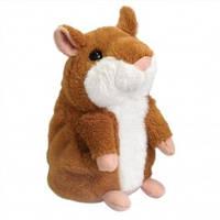 Говорящий хомяк, хомяк повторюшка от Mimicry Pet Toys 15см