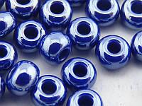 Чешский Бисер Preciosa (цвет: 17728 / 551, фиолетовый матовый), 5г