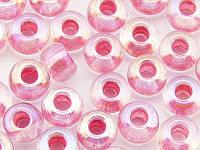 Чешский Бисер Preciosa (цвет: 58598, темно-розовый с бензиновым отливом), 5г