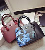 Красивая женская сумка с дизайнерским рисунком. Стильная сумка. Оригинальная сумка. Качественная. Код: КД84-1