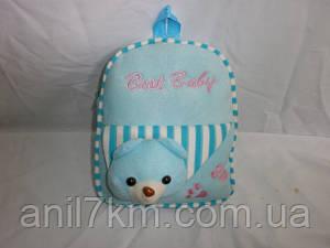 Плюшевый рюкзак игрушка