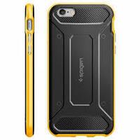 Чехол Spigen Case Neo Hybrid Carbon Reventon Yellow for iPhone 6/6S (SGP11622)