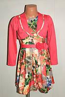 Платье на девочку(осень-весна)