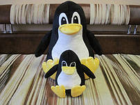 Игрушки подушки пингвины