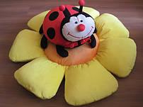 Игрушки подушки насекомые