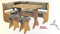"""Кухонный уголок """"Барон"""" 1100 Пехотин  /  Кухонний куток Барон 1100"""
