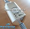 Электрический ТЭН Volux (нагреватель) для полотенцесушителя, с ручным регулятором, хром. Volux chrome Польша, фото 4