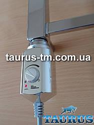 Электрический ТЭН Volux (нагреватель) для полотенцесушителя, с ручным регулятором, хром. Volux chrome Польша