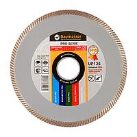 Круг алмазный 1A1R Baumesser Universal Pro 125 мм отрезной алмазный диск по керамической плитке и травертину
