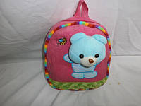 Плюшевый рюкзак-игрушка