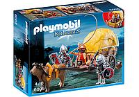 Конструктор Playmobil 6005 Рыцари Сокола с камуфляжной повозкой