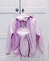Куртка демисезонная 3в1: беременность, слингоношение, обычная куртка(фото клиентки), фото 1