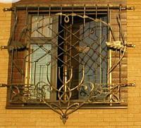 Кованая решетка №14