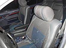 Чохли на сидіння БМВ 5 Е34 (чохли з екошкіри BMW 5 E34 стиль Premium)