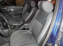 Чохли на сидіння БМВ 5 Е39 (чохли з екошкіри BMW 5 E39 стиль Premium)
