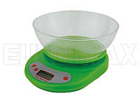 Весы бытовые кухонные с круглой чашей YZ-1811B-EK-01