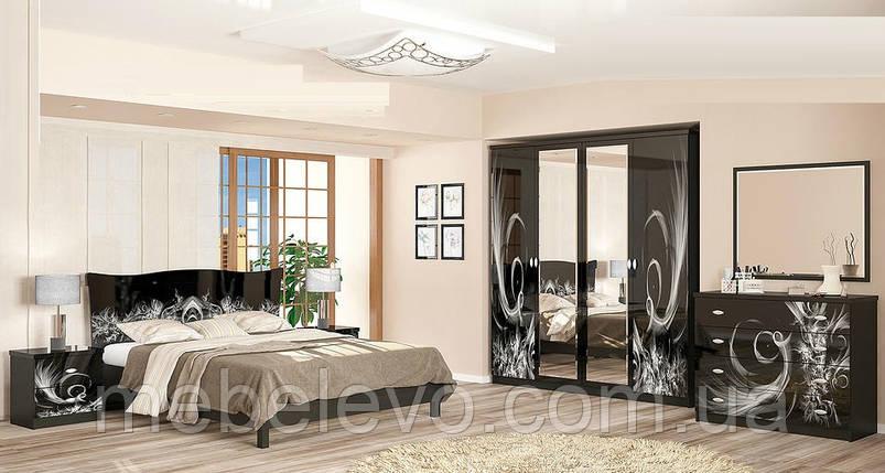 Спальня Ева комплект венге темный   Мебель-Сервис, фото 2