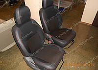 Чехлы на сиденья Чери Тиго (чехлы из экокожи Chery Tiggo стиль Premium)