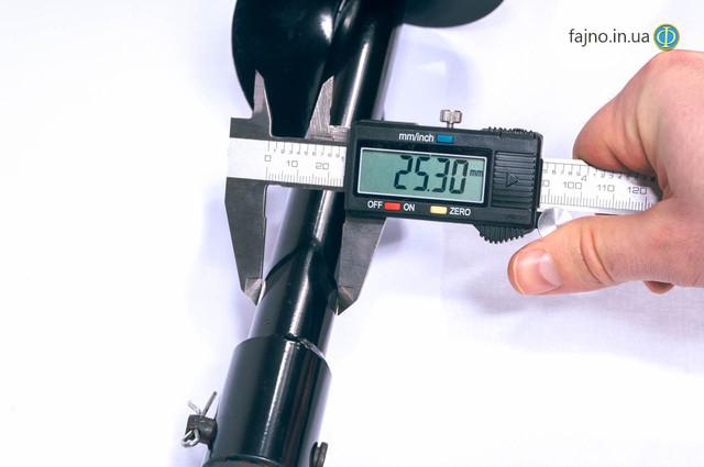 Шнек к мотобуру (бур) 100 мм х 800 мм
