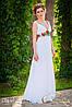 Платье с маками, свадебное