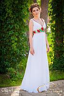 Платье с маками, свадебное, фото 1