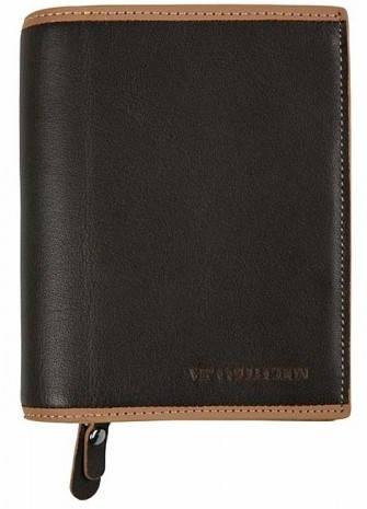 Удобный женский кошелек Vip Collection 27B BL коричневый