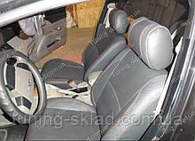 Чехлы на сиденья Чери Фора (чехлы из экокожи Chery Fora стиль Premium)